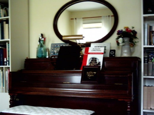 Years ago, mirrors would be covered when a person passed away, and the clocks in the room stopped due to superstitious beliefs.