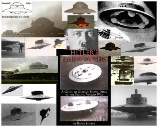 Somehow, the Nazis developed extremely sophisticated technology that some see as coming from Tesla and or ancient writings in the Vedas in the form of vimana flying craft.