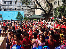 Our Dec. 2012 Christmas Gift-Giving for Street Kids of Ermita