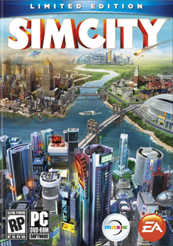 Box art for Sim City (2013)