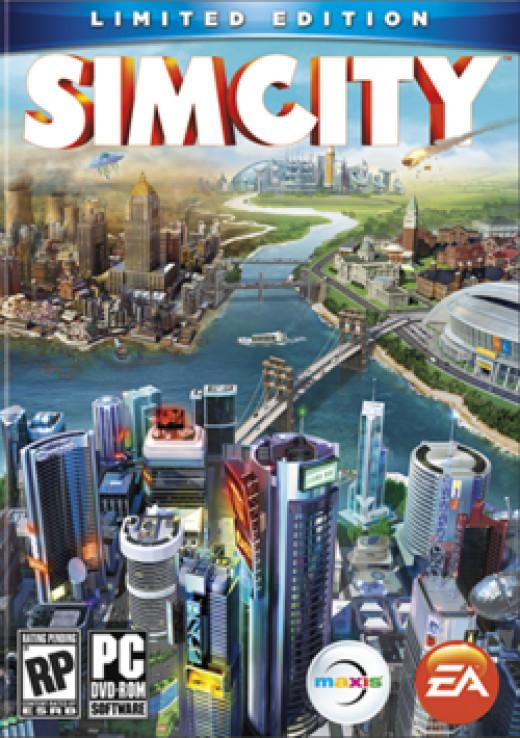 Box art for Sim City (2013)