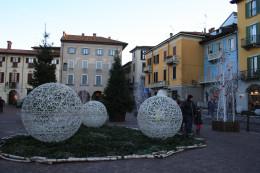 Arona Center, Lake Promenade, Lago Maggiore, Italy