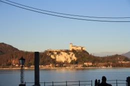Arona, Lake Promenade, Lago Maggiore, Italy
