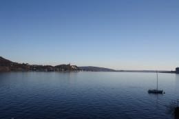 Meina, view from Residence Antico Verbano, Lago Maggiore, Italy
