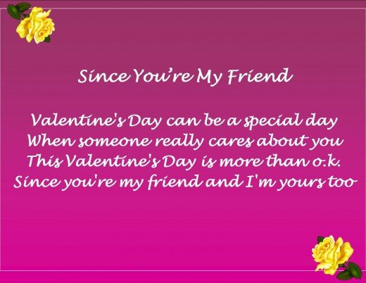 Valentines Day Messages Poems and Quotes for Friends – Friendly Valentine Cards