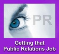 How To Get That Public Relations Job