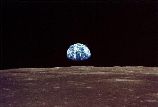 The Earth Viewed from Our Moon