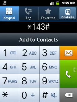 Dial 143 Globe Telecoms