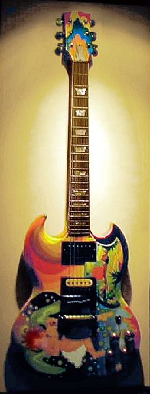 "Clapton's ""The Fool"" guitar"