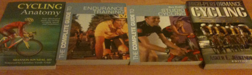 There's a vast array of cycling training books all with slightly different specialisms.