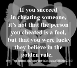 What is Cheating in a Relationship: To Cheat Yourself