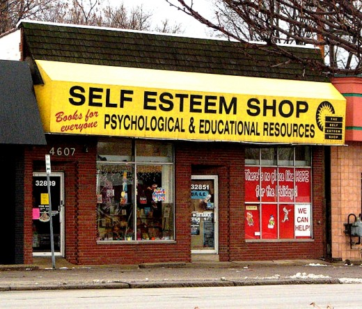 If only you could buy Self Esteem cheaply!