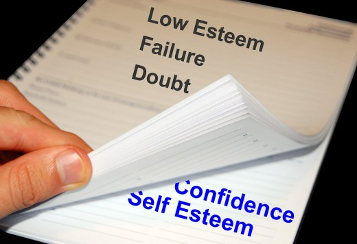 Turning the Page to Self Confidence and Self Esteem