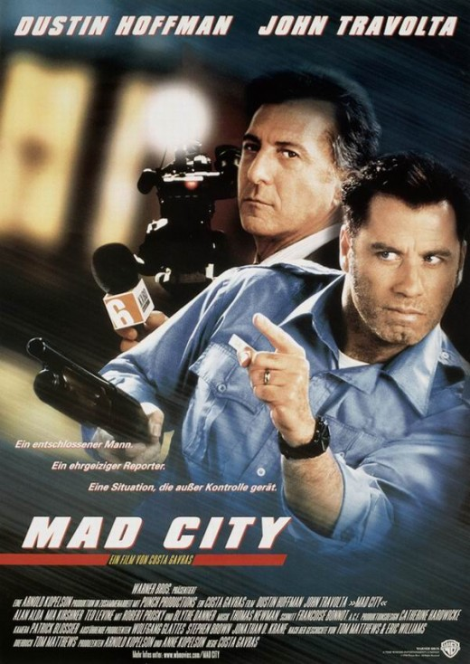 Mad City (1997) German poster