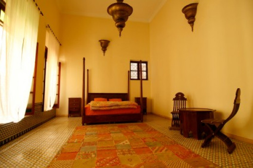 Ethnic Style Bedroom