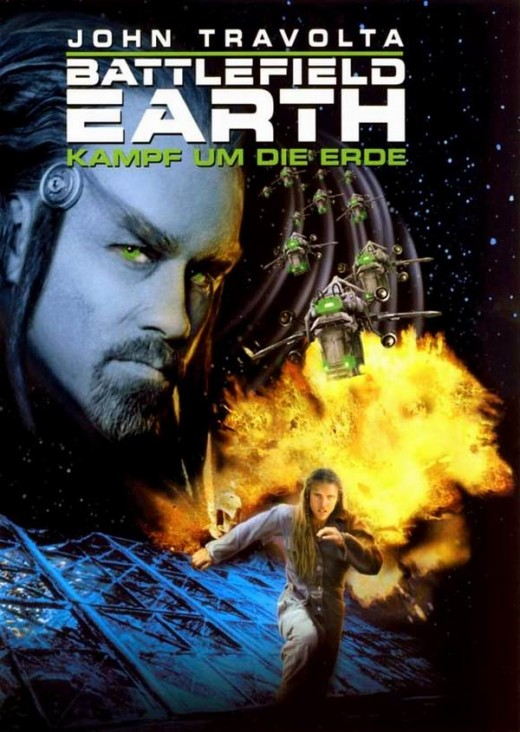 Battlefield Earth (2000) German poster