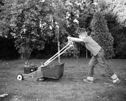 Surprise your grandparents by turning up at their doorstep one fine Sunday morning and mowing their lawn. Go ahead, give the oldies a tender reason to smile.