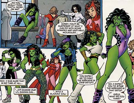 She-Hulk Costume History
