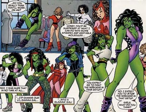 She Hulk Costume History