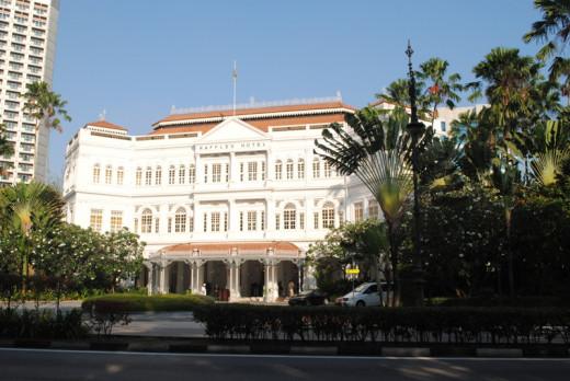 Singapore's iconic Raffles Hotel