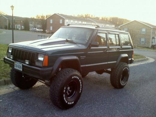 My Jeep.