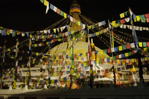 Baudha Monastery : There are over 1200 ancient Buddhist monasteries in Nepal