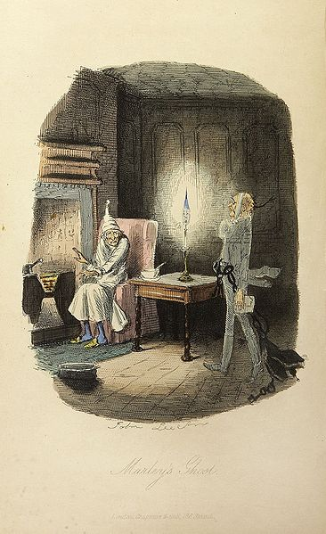 "Marley's Ghost from ""A Christmas Carol"""