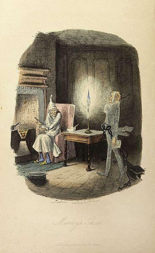 """Marley's Ghost from """"A Christmas Carol"""""""