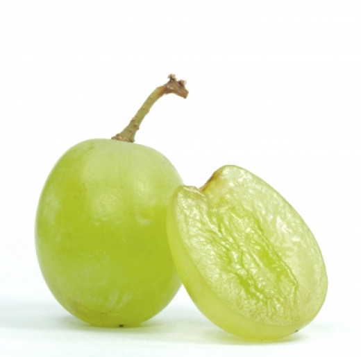 A handful of grapes is the equivalent to 1 of your 5 a day!