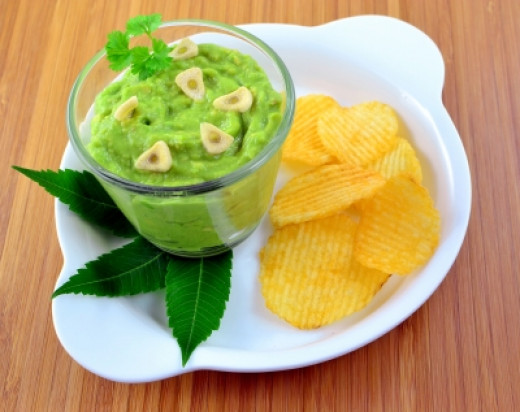 Try an avocado and garlic dip for the best of both anti-aging fruits!