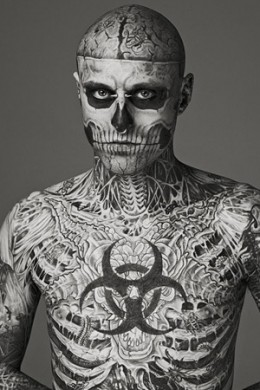 Rick the Tattoo Zombie Boy!