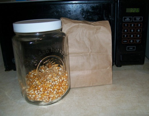 Simple, inexpensive, and tasty popcorn.