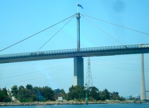 The Centre of the Westgate Bridge