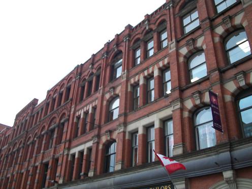 The Milburn Building, 47-55 Colborne Street, Toronto, Ontario