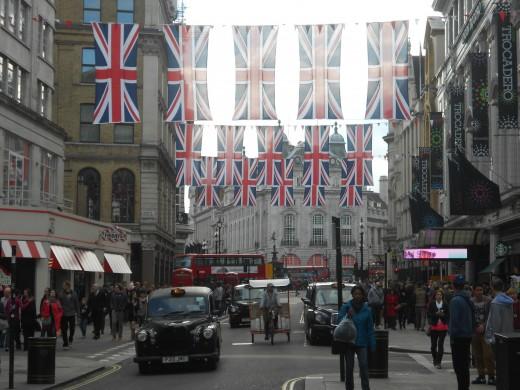 London for the Queen's Diamond Jubilee