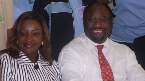 Dr Myles Munroe and his wife Ruth