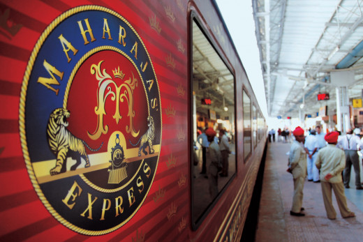 Maharajas' Express Train - A World of Red Carpet & High Teas with Maharajas