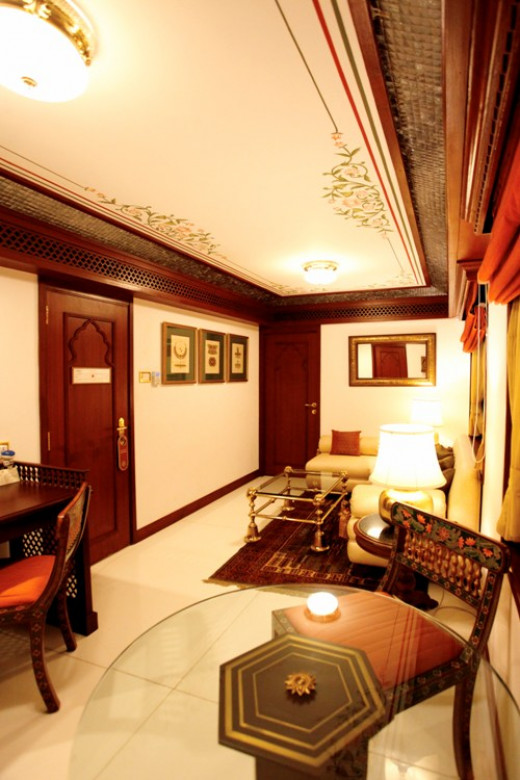Facilities inside Living Room of Presidential Suite