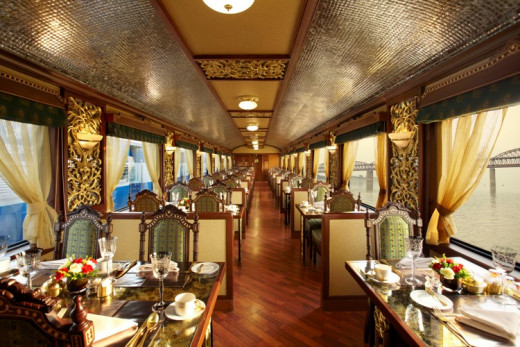 Mayur Mahal Dining Car Details - Seating Capacity of this Restaurant is 42 Guests