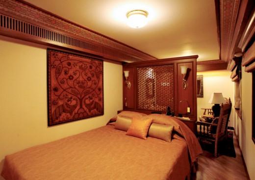 Master Bedroom of Presidential Suite