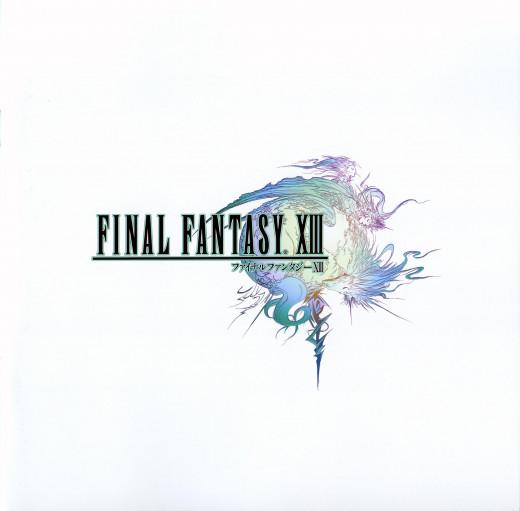 Final Fantasy XIII logo image.