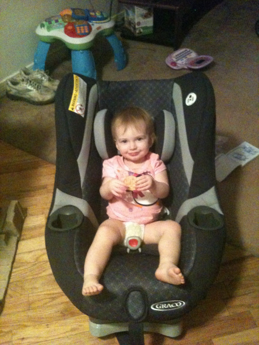 For comparison purposes; This is my daughter who is 15 months old, 19 lbs and 29 in tall.
