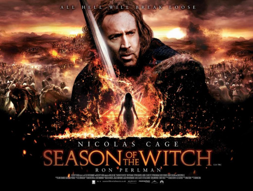 Season of the Witch (2011) UK poster
