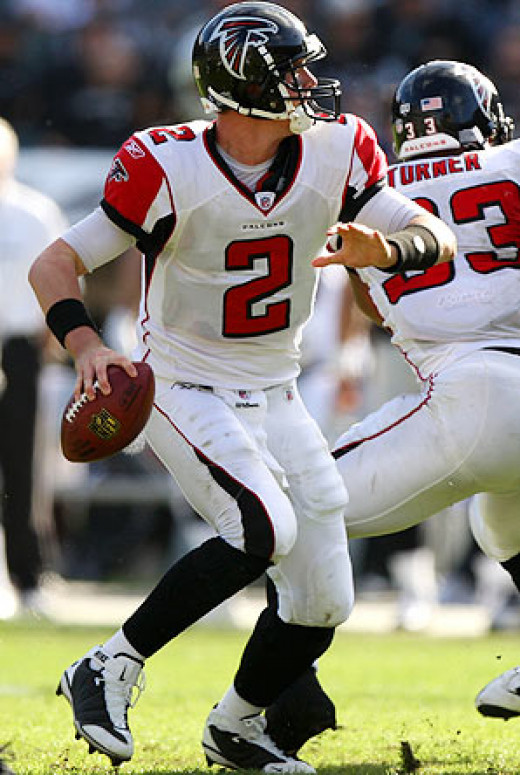 As a result of prior playoff disappointments, the pressure rests squarely on QB Matt Ryan