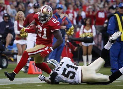 The Packers can expect a healthy does of Frank Gore when they visit the 49ers on Saturday Night