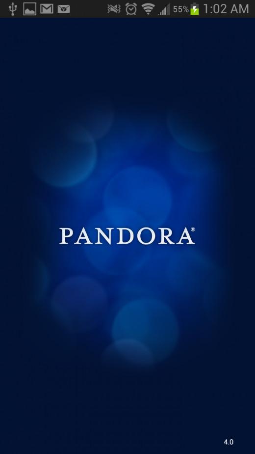 My favorite tunes came to me through Pandora