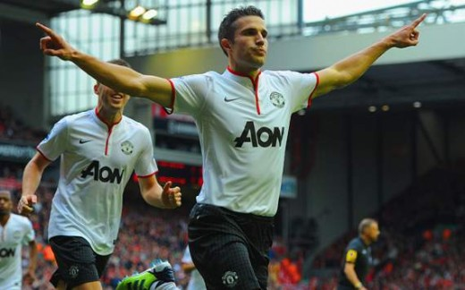 RVP notches another goal for MU