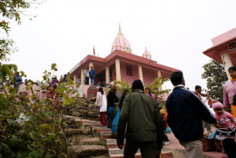 Temple dedicated to the goddess Jaichandi at the tmp of Chandi Hill