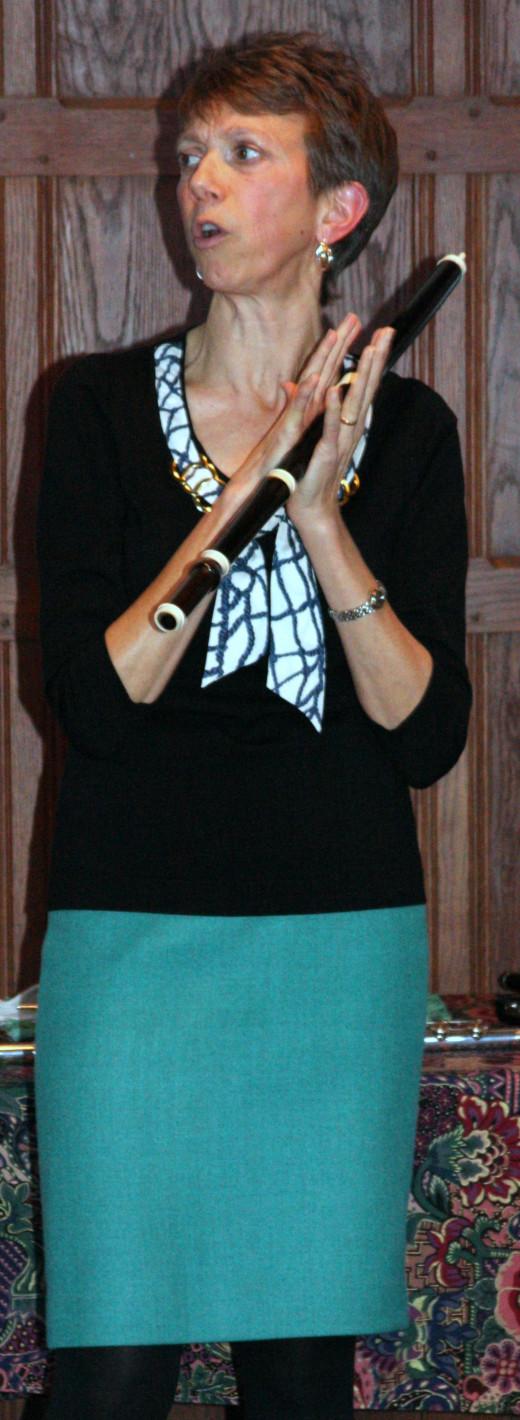 Amy Ridings, flutist