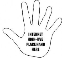 Internet High Five!